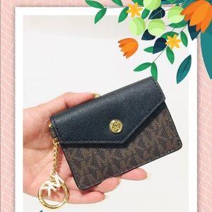 NWT Michael Kors Key/ID/Credit card case wallet